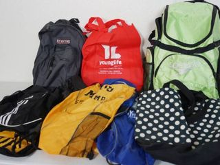 lot of Duffel Bags and Bags
