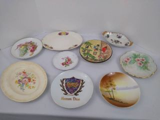 9  decorative plates