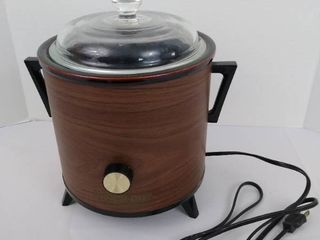 Vintage Crockpot slow cooker