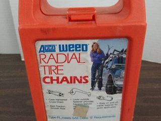 Acco weed radial tire chains