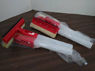 2 sets of spray wondow squeegee s