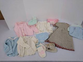 little girl baby clothes  can be used for doll clothes as well