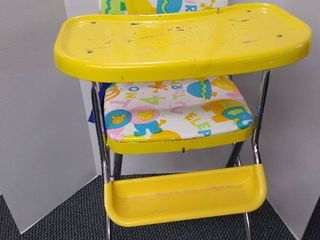 1960 s Retro cosco high chair