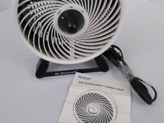 Air duracraft turbo fan