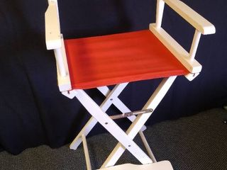 Collapsible directors chair   46  H