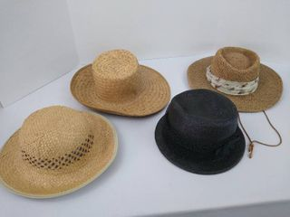 4  outdoor hats