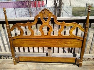 Wooden Queen headboard
