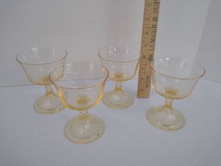 4 drinking glasses 4 1 2  H
