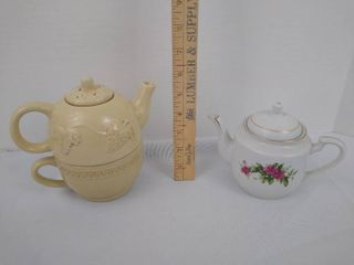 3 piece teapot and a teapot made in liling China