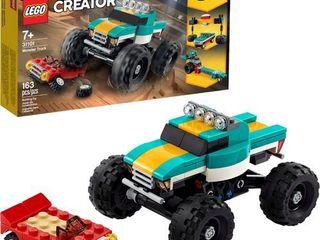 lEGO   Creator 3 in 1 Monster Truck 31101   Green Yellow