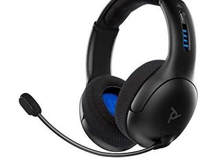 PDP Gaming lVl50 Wireless Stereo Headset with Noise Cancelling Microphone  Black   PS4