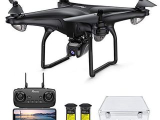 Potensic D58 Drone with 4K Camera for Adults  5G WiFi HD live Video  GPS Auto Return  RC Quadcopter for Adult  Portable Case  2 Battery  Follow Me  Easy Selfie Beginner and Expert Upgrade