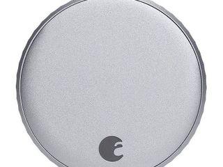 August   Wi Fi Smart lock  4th Gen    Silver