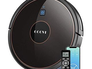 Robot Vacuum  GOOVI by ONSON 1600Pa WiFi Robotic Vacuum Cleaner with Alexa  Self Charging Vacuum  Pet Hair  Hard Floor  Carpets