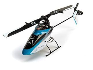 Blade Nano S2 Ultra Micro RC Helicopter RTF with SAFE Technology  Includes 2 4GHz 6 Ch DSMX Transmitter  150mAh 1S liPo Battery  USB Charger  BlH1300 Blue