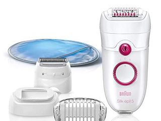 Braun Epilator Silk epil 5 5 280  Hair Removal for Women  Shaver  Cooling Glove