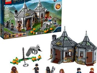lEGO Harry Potter Hagrid s Hut  Buckbeak s Rescue Building Set with Hippogriff Figure 75947