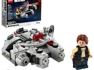 lEGO Star Wars Millennium Falcon Microfighter 75295 Building Kit  Awesome Construction Toy for Kids  New 2021  101 Pieces