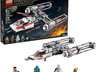 lEGO Star Wars  The Rise of Skywalker Resistance Y Wing Starfighter 75249 New Advanced Collectible Starship Model Building Kit  578 Pieces