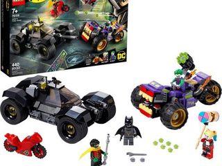 lEGO DC Batman Joker s Trike Chase Batmobile Playset with Action Minifigures 76159