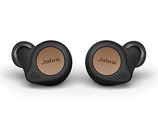 Jabra Elite Active 75t Earbuds   Charging Case   Copper Black