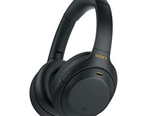 Sony WH 1000XM4 Wireless Industry leading Noise Canceling Overhead Headphones with Mic for Phone Call and Alexa Voice Control  Black