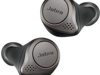 Jabra   Elite 75t True Wireless Active Noise Cancelling In Ear Headphones   Titanium Black