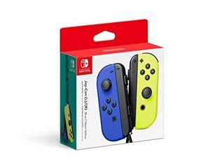 Nintendo Blue  Neon Yellow Joy Con  l R    Switch