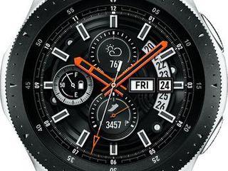 Samsung Galaxy Smartwatch 46mm   Silver with Black Band