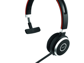 Jabra EVOlVE 65 UC Monaural Over the Head Headset