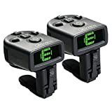 D Addario NS Micro Clip On Tuner  2 pack