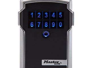 Master lock Box  Electronic Wall Mount Key Safe with Personal Use Software Platform  3 1 4 in  Wide  5441D