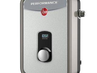 Rheem Performance 13 kW Self Modulating 2 54 GPM Tankless Electric Water Heater