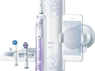 Oral B 8000 Electronic Toothbrush  Orchid Purple powered by Braun