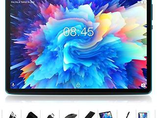 Android 10 0 Tablet   MEBERRY 10  Ultra Fast 4GB RAM 64GB ROM Tablets 8000mAh Battery WiFi Support   Bluetooth Keyboard   Mouse   M7 Tablet Cover and More Include   Blue