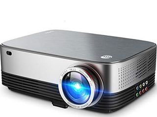 VIVIMAGE C680 Native 1080p Projector  Full HD lED Home Theater Movie Projector 60Hz Compatible TV Stick  HDMI  VGA  USB  laptop  iPhone Android for PowerPoint Presentation