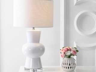 Julia Ceramic lED Table lamp by JONATHAN Y