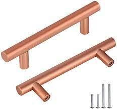 Rose Gold Drawer Pulls 5 PACK