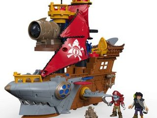 Fisher Price Imaginext Shark Bite Pirate Ship