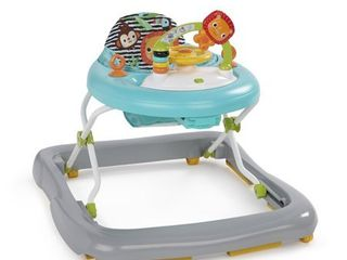 Bright Starts Zig Zag Zebra Baby Walker w  Activity Station