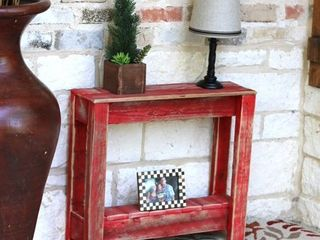 Wood Rustic Side Table