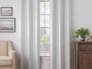 Eclipse Martina Solid Absolute Zero Max Blackout Curtain Panels SET OF 2