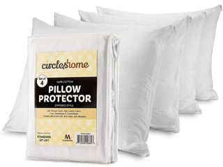 Circles Home Cotton Pillow Protector