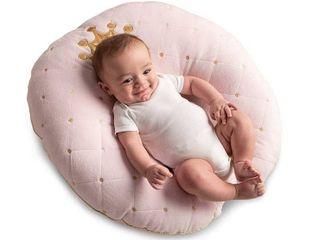 Boppy Preferred Newborn lounger  Pink Princess Soft Pillow Seat W Case
