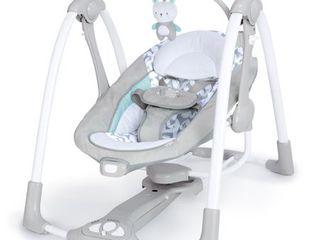 Ingenuity ConvertMe Swing 2 Seat Portable Swing  Raylan