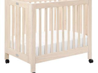 Babyletto Origami Mini Crib   Washed Natural