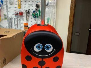 KiddieTotes luggage Scooter   ladybug