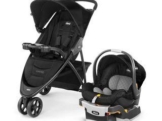 Chicco Viaro Travel System Stroller  Black