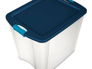 latch   Carry Tote  Clear Base  26 Gallons   Quantity 4
