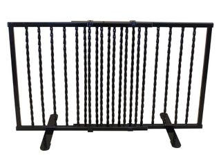 Cardinal Gates Wrought Iron Step Over Freestanding Pet Gate 24 41 25
